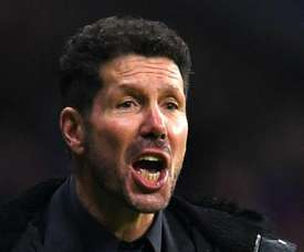 Diego Simeone is hopeful as Atletico face Brugge in the Champions League. GOAL