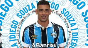 Diego Souza volta ao Grêmio 13 anos depois em busca de redenção. Goal