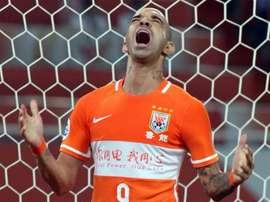 Diego Tardelli Shandong Luneng. Goal