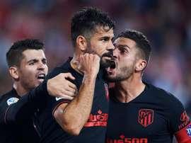 Simeone positive as Costa returns