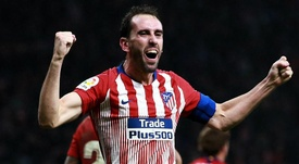 Gimenez hopes Godin stays at Atletico amid Inter links