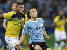 Diego Laxalt expects a tough game against Japan in Porto Alegre. GOAL