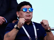 Maradona was optimistic about the club's prospects. GOAL