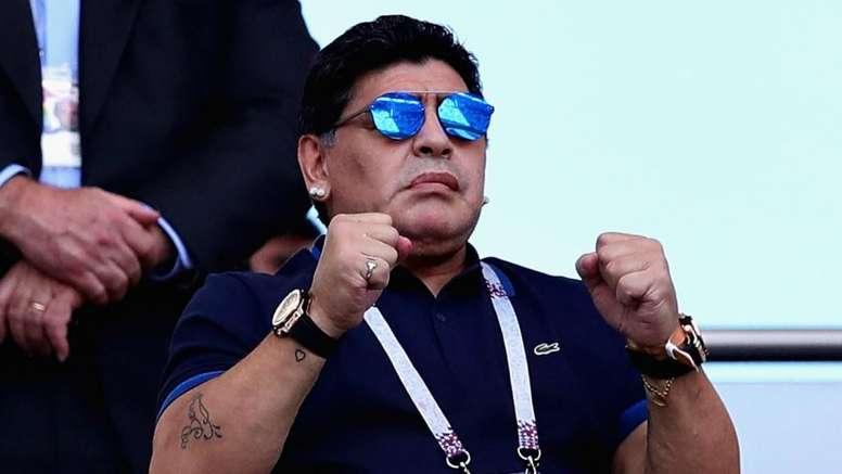 Maradona was optimistic about the club's prospects. GOAL