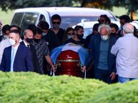 Diego Maradona has been laid to rest in a private ceremony. GOAL