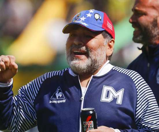 Diego Maradona has quit as Gimnasia coach after just six months. GOAL