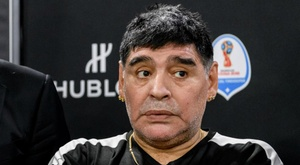 Maradona sadly passed away. GOAL