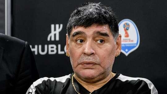 Maradona sadly passed away. GOAL