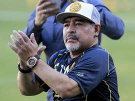 Diego Maradona has returned to management in the Mexican second tier. GOAL