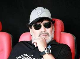Maradona appointed head coach of Gimnasia. GOAL