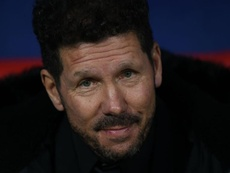 Simeone excited by improving Atleti. Goal