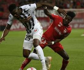 Angers a gagné à Angers. Goal