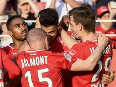 Le DFCO dompte Rennes. Goal