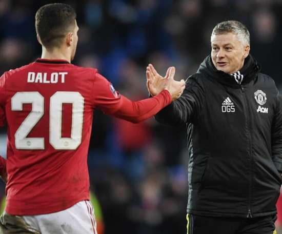 Dalot: It's been tought at Man Utd