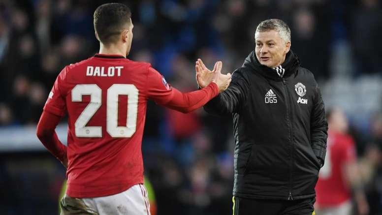 Dalot: It's been tought at Man Utd