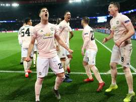 Man Utd broke PSG's hearts with a stoppage time penalty. GOAL