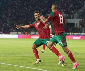Dirar a marqué pour les siens. Goal