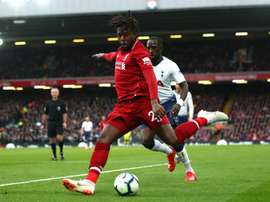 Origi made his first Champions League start for Liverpool. GOAL