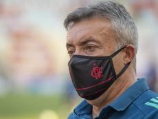 Como Domènec venceu desconfiança interna e ganhou moral no Flamengo. EFE