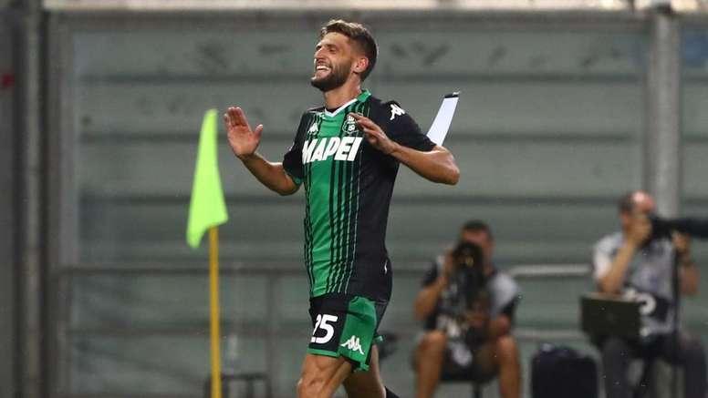 Sassuolo, infortunio muscolare per Berardi: salta la Nazionale