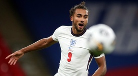 Dominic Calvert-Lewin was delighted after scoring in England's 3-0 win over Wales. GOAL