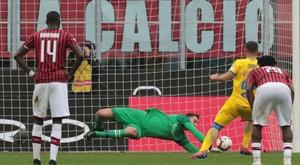 Gattuso thankful to Milan penalty hero Donnarumma. Goal