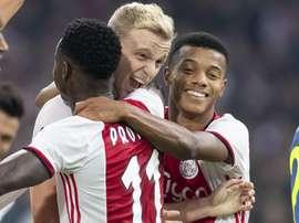 L'Ajax est leader d'Eredivisie. Goal