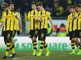 Dortmund banned their armed fans. Goal