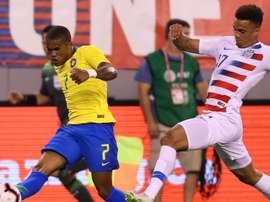 Jogadores comentam a vitória do Brasil. Goal
