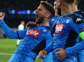 Mertens suffers bruised ankle after equalling Napoli record