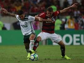 Cuéllar destaca empenho do Flamengo na briga por liderança