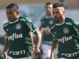 O caminho deve ser longo para o Palmeiras superar Dudu. EFE