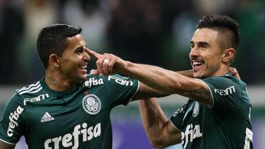 Dudu Willian Bigode Palmeiras Atletico-PR Brasileirao Serie A. Goal