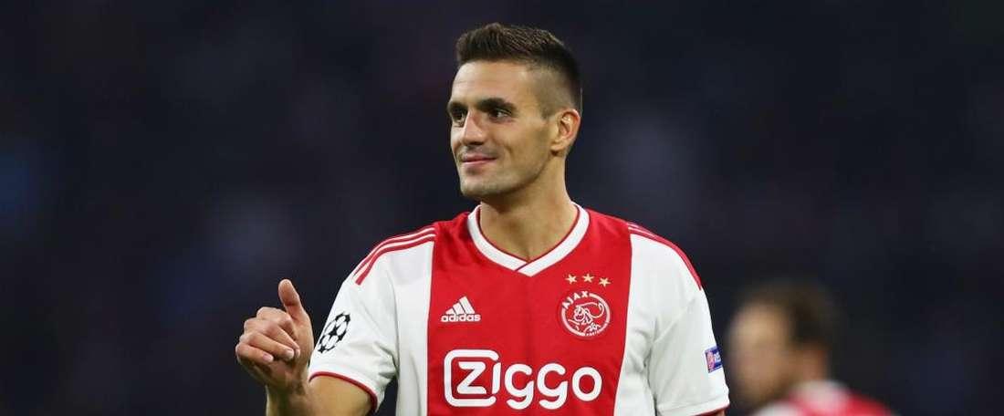 Dusan Tadic for Ajax. GOAL
