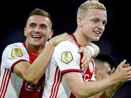 Porto ne jouera pas la Ligue des Champions, l'Ajax si. GOAL