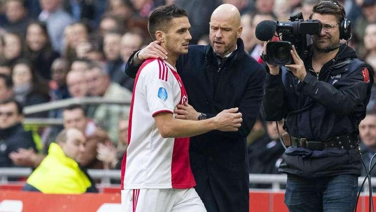 Erik Ten Hag ne songe pas à quitter l'Ajax Amsterdam. GOAL