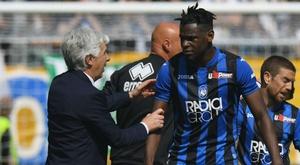 Gasperini commenta l'infortunio di Zapata. Goal
