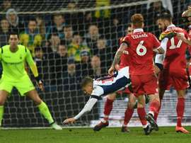 Dwight Gayle has accepted the charge of diving. GOAL