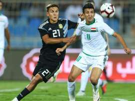 Dybala Irak Argentina Amistoso Internacional. Goal