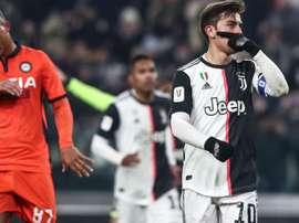 Magia di Dybala, Del Piero: 'Bello fare goal così eh...'. Goal