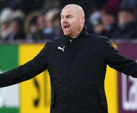 Dyche was relieved at finally getting some luck. GOAL