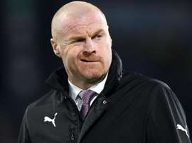 Sean Dyche has defended his players tackles during the Liverpool match. GOAL