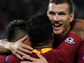 Dzeko Roma Viktoria Plzen Champions League. Goal