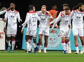 Lyon repart en force. Goal