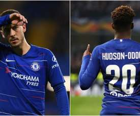 Can Chelsea keep hold of both Hazard and Hudson-Odoi? GOAL
