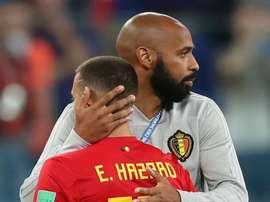 Hazard gave Henry a glowing endorsement. GOAL