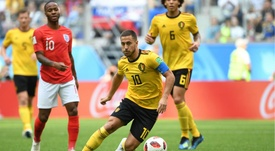 Un grande Belgio batte l'Inghilterra. Goal
