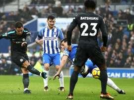 Eden Hazard, Chelsea-Brighton, Premier League. GOAL