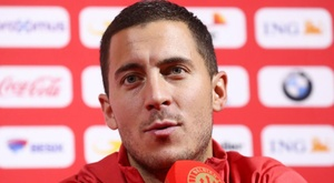 Hazard: Belgium mentality stronger. GOAL