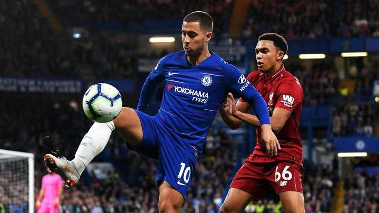 Van Dijk: Chelsea a different proposition following Hazard exit